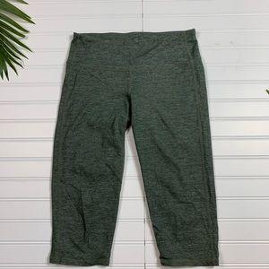 Athleta Green Gray Leggings Small